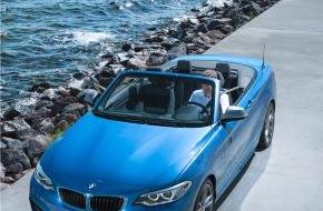 BMW Group: Das BMW 2er Cabrio. Erfrischend dynamisch.