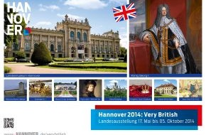 Hannover Marketing und Tourismus GmbH: Very British 2014: Hannover im Royals-Fieber