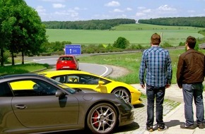 """RTL II: From Autobahn to Nürburgring: """"Top Gear USA"""" zu Besuch in Deutschland"""