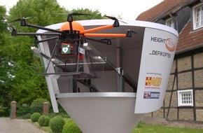 ASB-Bundesverband: ASB fordert Einbindung von Defikoptern in den Rettungsdienst / Schnelle Hilfe aus der Luft kann Leben retten