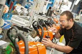 ANDREAS STIHL AG & Co. KG: STIHL gibt Beschäftigungsgarantie bis 2020 und investiert kräftig in deutschen Standort