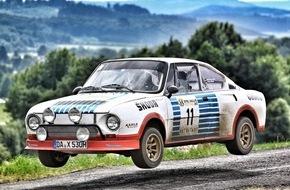 Skoda Auto Deutschland GmbH: Legendärer SKODA 130 RS feiert seinen 40. Geburtstag beim Eifel Rallye Festival