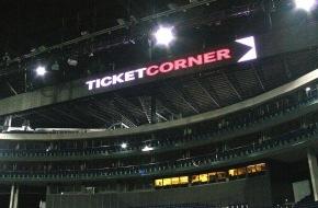 Ticketcorner AG: Ticketcorner und das Hallenstadion Zürich beschliessen strategische Partnerschaft