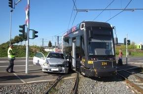 Unfall mit Tram