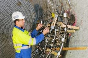 Nagra: Felslabor Grimsel der Nagra: Test eines gasdurchlässigen Versiegelungsbauwerks für geologische Tiefenlager