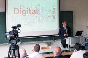 Hochschule Fresenius: Über Risiken und Chancen des Digitalen Wandels - Antrittsvorlesung an der Hochschule Fresenius