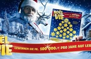 Loterie Romande: Loterie Romande: Noël à Vie - Dieses Jahr gibt's noch mehr zu gewinnen