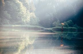 ALPBACHTAL SEENLAND Tourismus: Wasserfest am Berglsteinersee - alles eine Frage der Balance