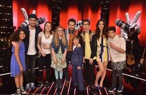 """SAT.1: Das jüngste """"The Voice Kids""""-Finale aller Zeiten: Lena, Mark oder Johannes - wer coacht das beste Talent?"""