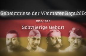 """ZDFinfo: """"Geheimnisse der Weimarer Republik"""": ZDFinfo-Doku-Dreiteiler über den Weg von der """"schwierigen Geburt"""" 1918 bis zum """"Weg in den Abgrund"""" 1933"""
