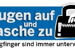 Polizeipressestelle Rhein-Erft-Kreis: POL-REK: Taschendiebinnen bemerkt - Kerpen