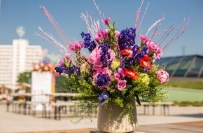Blumenbüro: Floraler Rückblick: Der Flower Market im Bikini Berlin / Blumen, Workshops, Brands und bezaubernde Besucher
