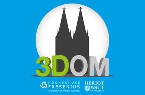 Hochschule Fresenius für Wirtschaft und Medien GmbH: Kölner Dom wird eingescannt: Hochschule Fresenius startet 3D-Projekt