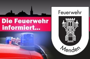 Freiwillige Feuerwehr Menden: FW Menden: Freitag der 13. ist deutschlandweiter Rauchmeldertag