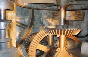 Vereinigung Schweizer Mühlenfreunde (VSM/ASAM): La visite d'un moulin, d'une huilerie, d'une scierie et autres installations est une expérience qui fait appel à tous les sens