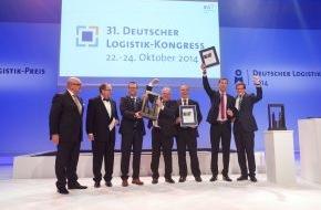 """BVL Bundesvereinigung Logistik e.V.: """"Die Logistik steuert die Fabrik"""" / Deutscher Logistik-Preis 2014 für die Mercedes-AMG GmbH"""