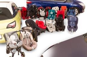 Touring Club Schweiz/Suisse/Svizzero - TCS: Kindersitzeinbau: Einschränkungen auch bei grossen Fahrzeugen