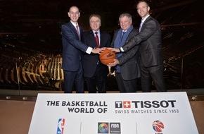 TISSOT S.A.: Tissot, der Spitzenspieler in der Welt des Basketballs