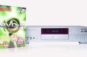 Convar Systeme Deutschland: CONVAR Deutschland startet den Vertrieb von elektronischen Consumer Produkten in Europa mit einem preiswerten DVD Rekorder für 149,00 Euro