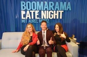 """Tele 5: """"Der Klügere kippt nach"""" - die Gäste am 27. April: Oliver Kalkofe, Peter Rütten und Lotto King Karl / Und: Aurel Mertz mit """"Suchtpotenzial"""" in """"Boomarama Late Night"""""""