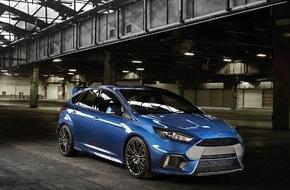 """Ford-Werke GmbH: Erster Blick auf den neuen Ford Focus RS mit innovativem """"Ford Performance""""-Allradantrieb"""