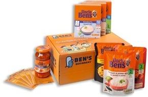 """Mars Food Deutschland: """"An die Töpfe, fertig, los! Gemeinsam kochen. Besser essen."""" / Uncle Ben's ruft in die Mitmachküche"""