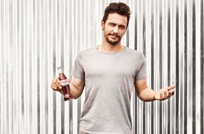 Coca-Cola Deutschland: Hollywoodstar James Franco macht den Sommer sexy