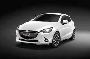 """Mazda (Suisse) SA: Der Mazda2 """"Swiss Edition"""" - Ein Auto von Welt für die Schweiz / Schweizer Sondermodell wird mit nur 200 Exemplaren zur exklusiven Seltenheit"""