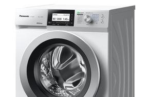 Panasonic Deutschland: Panasonic kündigt weitere Waschmaschinen mit AutoCare an / Neue Waschmaschinen, die mitdenken, auf der IFA 2015