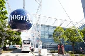 HIGH END SOCIETY SERVICE GmbH: HIGH END 2016 - im MOC München - vom 05. bis 08. Mai / Beste Prognosen für eine erfolgreiche HIGH END 2016