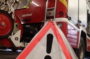 Feuerwehr Plettenberg: FW-PL: OT-Oestertal. Schwerer Verkehrsunfall auf der L 696.