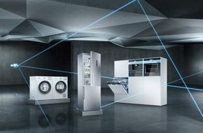 Siemens Hausgeräte: Die smarte Küche von Siemens ist komplett / Mit connectivityfähigen Geräten bei Kühlen, Kaffee und Wäschepflege bietet die Marke jetzt ein vernetztes Vollsortiment