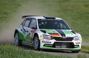 Skoda Auto Deutschland GmbH: Aus in der letzten Prüfung: SKODA Pilot Kreim verpasst Sieg im neuen Fabia R5 (FOTO)