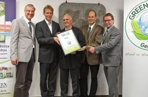 Green Brands: MOLTEX erhält neue internationale Auszeichnung als GREEN BRAND Germany