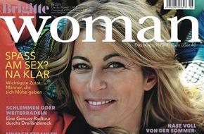 Gruner+Jahr, Brigitte Woman: Katja Riemann glaubt an Wahlverwandtschaften