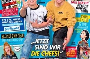 """Bauer Media Group, BRAVO: Youtube-Zwillinge """"Die Lochis"""" entern BRAVO: """"Wir sind jetzt die Chefs!"""""""
