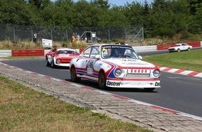 Skoda Auto Deutschland GmbH: SKODA 130 RS startet beim ,24h-Classic' im Rahmen der 24 Stunden Nürburgring