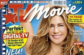 Bauer Media Group, TV Movie: TV Movie mit erweitertem Themenspektrum: myLIFE - die Zeit meines Lebens / Lifestyle-Rubrik ab sofort in jeder Ausgabe
