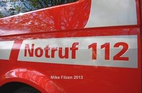 Feuerwehr Essen: FW-E: Wohnungsbrand in Kray - keine Verletzten
