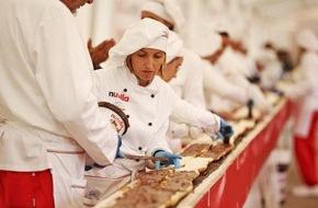 Ferrero Deutschland: Längstes Baguette (122,4 Meter) - nutella Frankreich und Italien brechen den Guinness Weltrekord
