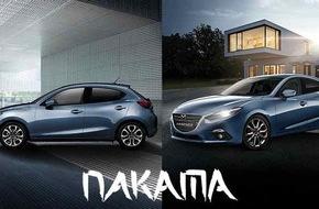 "Mazda: Mazda2 und Mazda3 jetzt als Sondermodell ""Nakama"""