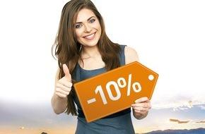 Onlineprinters GmbH: Onlineprinters.ch baisse de 10% le prix des imprimés / Impression en ligne à bas prix en Suisse grâce à une logistique optimisée