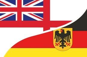 Presse- und Informationszentrum Marine: Von Gegnern zu Freunden - Einer der wichtigsten Kooperationspartner der Deutschen Marine - die Royal Navy (FOTO)