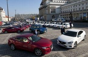 Mazda: Mazda unterstützt erneut den Weltgipfel der Friedensnobelpreisträger