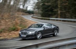 Bentley Motors Ltd.: Mehr Luxus und Leistung für die Continental und Flying Spur Modelle von Bentley