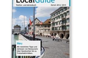 local.ch: Der neue Local Guide Zürich: Das offizielle Telefonbuch - jetzt anders