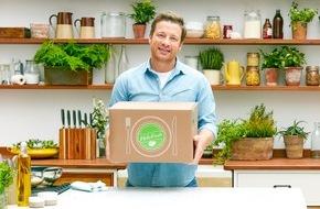 HelloFresh GmbH: HelloFresh bringt Jamie Oliver in Deutschlands Küchen