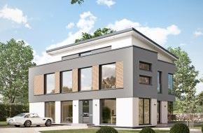 """Bien-Zenker GmbH: Die beste Antwort auf steigende Energiepreise: Plus-Energie-Häuser / Bien-Zenker stellt das erste """"Smart-City Plus-Energie-Haus"""" vor"""