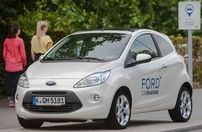 Ford-Werke GmbH: Ford Carsharing läutet den Sommer ein: Neukunden profitieren von attraktiven Angeboten