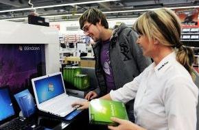 Microsoft Deutschland GmbH: Windows 7 erfolgreich gestartet